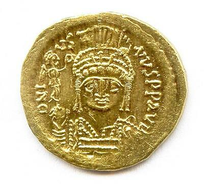 Gold coin - Solidus of Emperor Justinus II (A.D. 565-578)