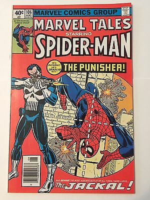 Marvel Tales 106 First Punisher Reprint