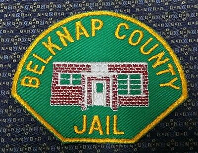 Vintage Delknap County Jail New Hampshire Police Shoulder Patch