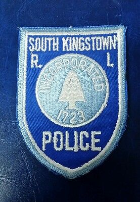 South Kingstown, Rhode Island Police Shoulder Patch Ri