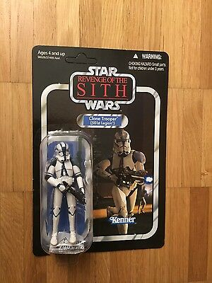 Star Wars Vintage Collection Clontrooper 501st vc 60 Unpunched