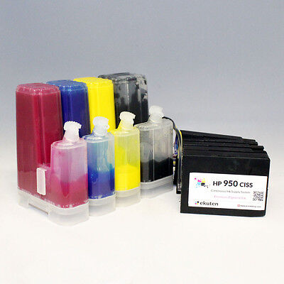 CISS Continuous Ink System for HP Officejet Pro 8600 8610 8620 (Easy Refill)