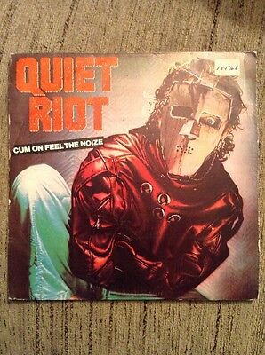 QUIET RIOT - Cum On Feel The Noize - Single Promo S/sided - España - 1983