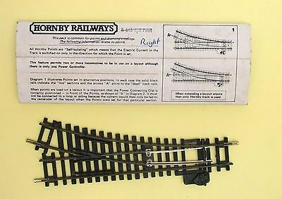 Hornby OO gauge R613 Right hand points