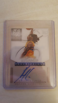 2012-13 Panini Elite rookie inscriptions Kenneth Faried autograph rookie