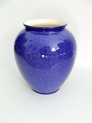 Large Colbolt Blue Vase.  Ceramic Flower Pot Pottery