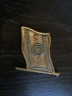 Admiral Gary Roughhead Chief Of Naval Operations Flag Coin