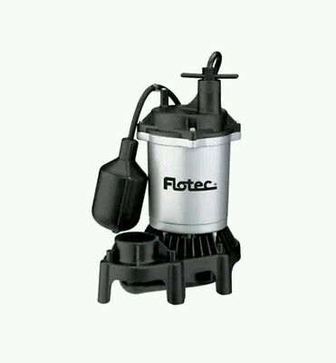Flotec 1/2 HP Sump Pump with Tethered Switch - FPZS50T - Submersible **NEW**