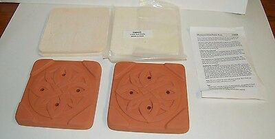 Lee Valley Microwave Flower Press GM420. Terra Cotta plates. Crafts, flowers