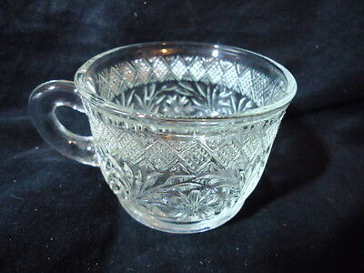 Set of 16 Beautiful Vintage Clear Depression Glass Punch Cups (McKee?)