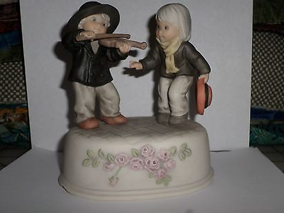 Kim Anderson You're Music To My Ears 1998 Musical Figurine Playing Violin!