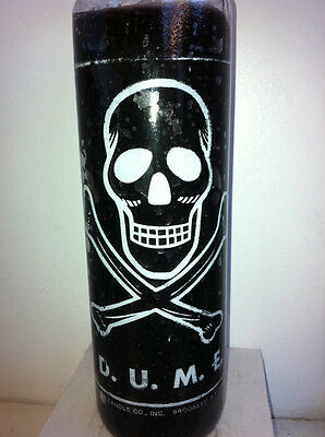 D.u.m.e. (Dume) 7 Day Unscented Black Skull Candle In Glass (M.c.m.e.)