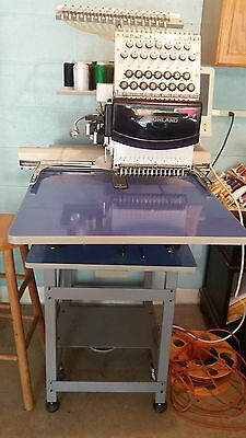 Highland HM/D-1501C 15 Needle Industrial EMbroidery Machine