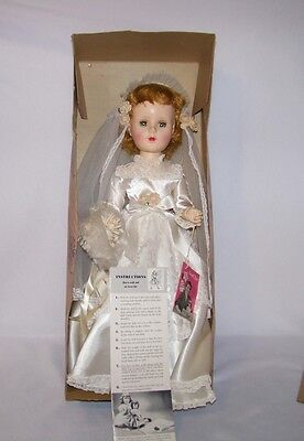 1950's American Character Sweet Sue Bride Head Turning Walker Box & Instructions