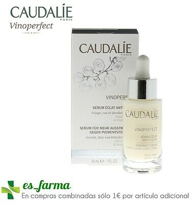 Caudalie Vinoperfect Serum Glühen Illuminator Fleck, 30Ml