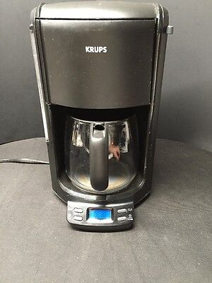 krups proaroma 12 cup programmable automatic coffee maker type 453 black picclick uk. Black Bedroom Furniture Sets. Home Design Ideas