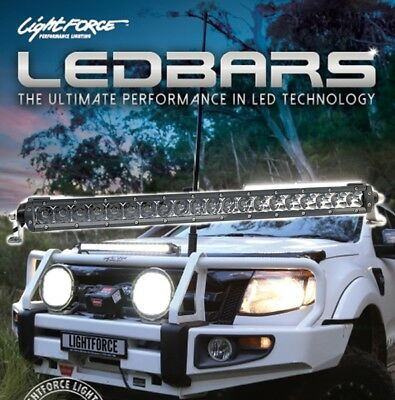"Lightforce Gen 2, 20"" Single Row LED 20x5w Combination Light Bar With wiring Har"