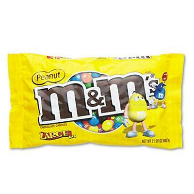 M & M`S. 24929 Milk Chocolate/Candy Coated Peanuts 19.2 oz Pack