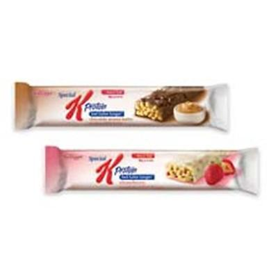 Keebler Co. KEB29190 Protein Meal Bars, Chocolate Peanut Butter, 1.59oz, 8-BX