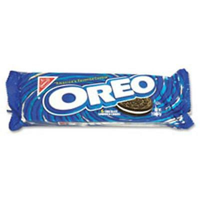 Nabisco Food Group Oreo Cookies,Filled with Vanilla Cream,1.8 oz Bags,12-BX