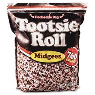 Advantus AVTSN884580 Tootsie Roll Midgees Candy 1 BG