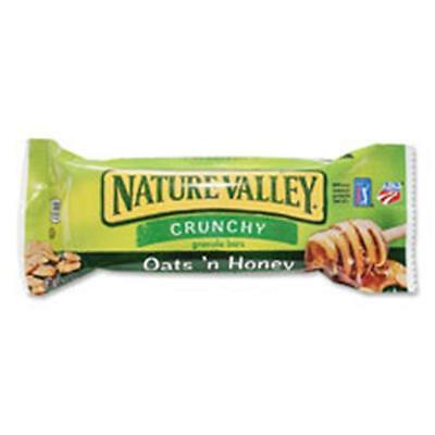 General Mills GNMSN3353CT Nature Valley Oats-Honey Granola Bar, 18 Per Count