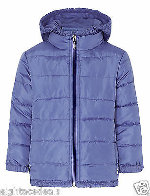 GIRLS coat from M&S lightweight quilted jacket 4-5 years NOW £5.99