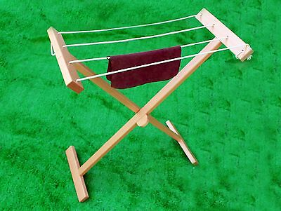 NEW Montessori Practical Life Material- Hardwood Clothesline Stand