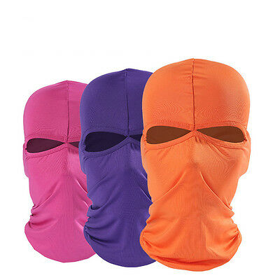 Unisex Outdoor Motorcycle Cycling Ski Full Cover Neck Face Mask Balaclava Soft U