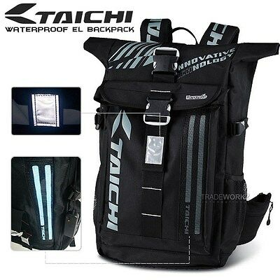 30L Grey RS TAICHI RSB272 EL Waterproof Travel Outdoor Sports Polyester Backpack