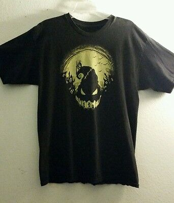 The Nightmare Before Christmas Glow in the dark T-Shirt Large Disney