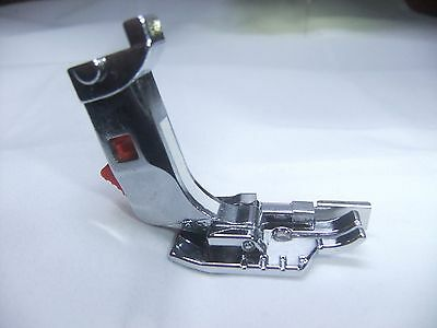 """Bernina 1/4"""" Quarter Inch Foot +Adapter Patchwork & Quilting W/guide *new Style*"""