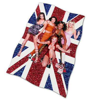 Spice Girls Flag Banner NEW Wannabe Up Your Life Say You'll Be There British