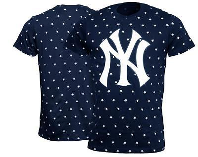 New York Yankees 47 Brand MLB T-Shirt Cosmos Baseball Merchandise NY Tee shirt