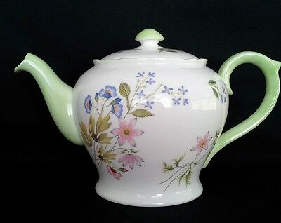 "Shelley 8Cup Teapot ""wild Anemone"" #13977 C1940-66"