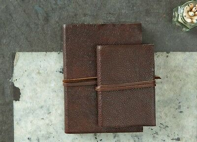 Kadira Handmade Leather Bound Notebook Travel Sketchbook Book Diary Journal Gift