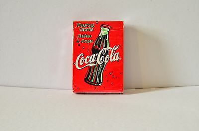 Coca Cola Bicycle Poker Playing Cards Deck Set Pack Sealed Boxed Mint