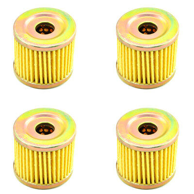 4x Engine Oil Filters for Suzuki UC125 UH125 UE125 UX125 AN150 UE150 UH200 AN400