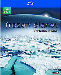Frozen Planet - The Complete Series [Blu-ray] New & Sealed