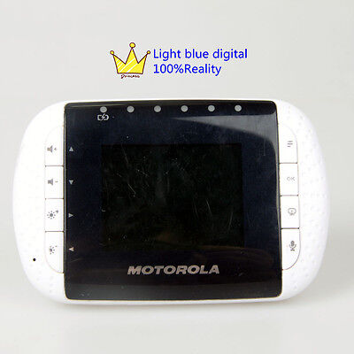 """Motorola MBP33PU Wireless Video Baby Monitor 2.8"""" LCD color Extra display"""