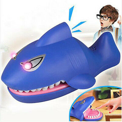 Spoof Bitting Shark Funny Toy Snapping Bite Finger Game Teeth Toy Shark Party