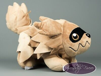 "Pokemon Zigzagoon ジグザグマ Jiguzaguma Plush Pokemon 12""/30 cm High Quality UK Stock"