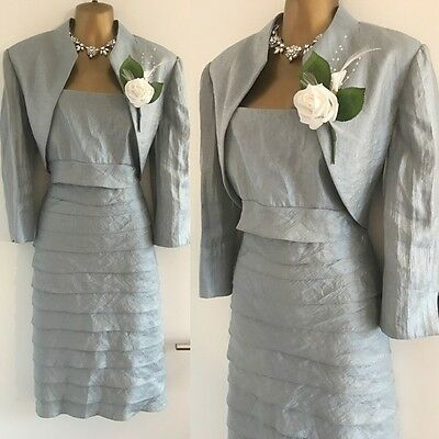 JESSICA HOWARD DRESS & JACKET SIZE 12 Mother Of Bride Party Evening Occasion.