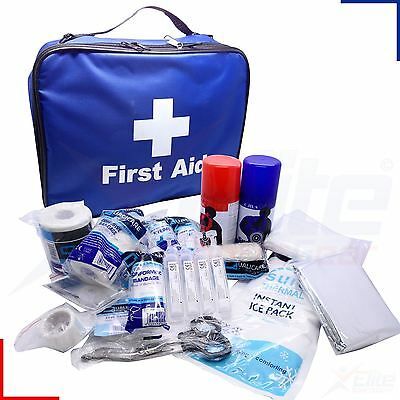 Touchline Sports First Aid Kit Team Club Injury Blue Bag or Refill