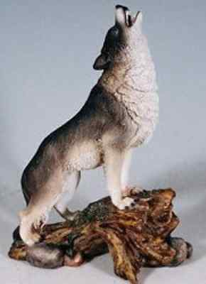 Call of the Grey Wolf Figurine