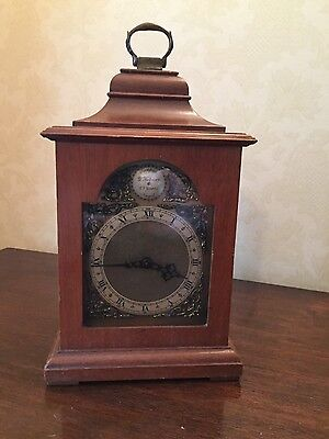 Antique Rotherham Timepiece Mantle Clock with Brass Face