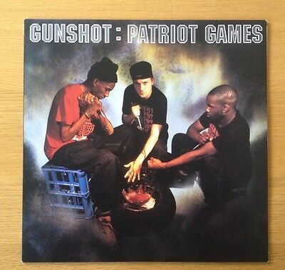 GUNSHOT - Patriot Games original vinyl LP 1993