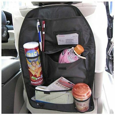 2x Car Back Seat Tidy Organiser Storage Pocket Pouch Travel Kid Baby Bag Holder2
