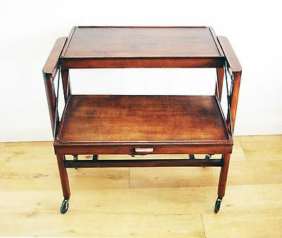 Early 20th Century Metamorphic Serving Trolley / Table