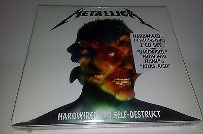 NEW METALLICA HARDWIRED TO SELF DESTRUCT 2CD MEXICAN SET Made in Mexico DIGIPAK